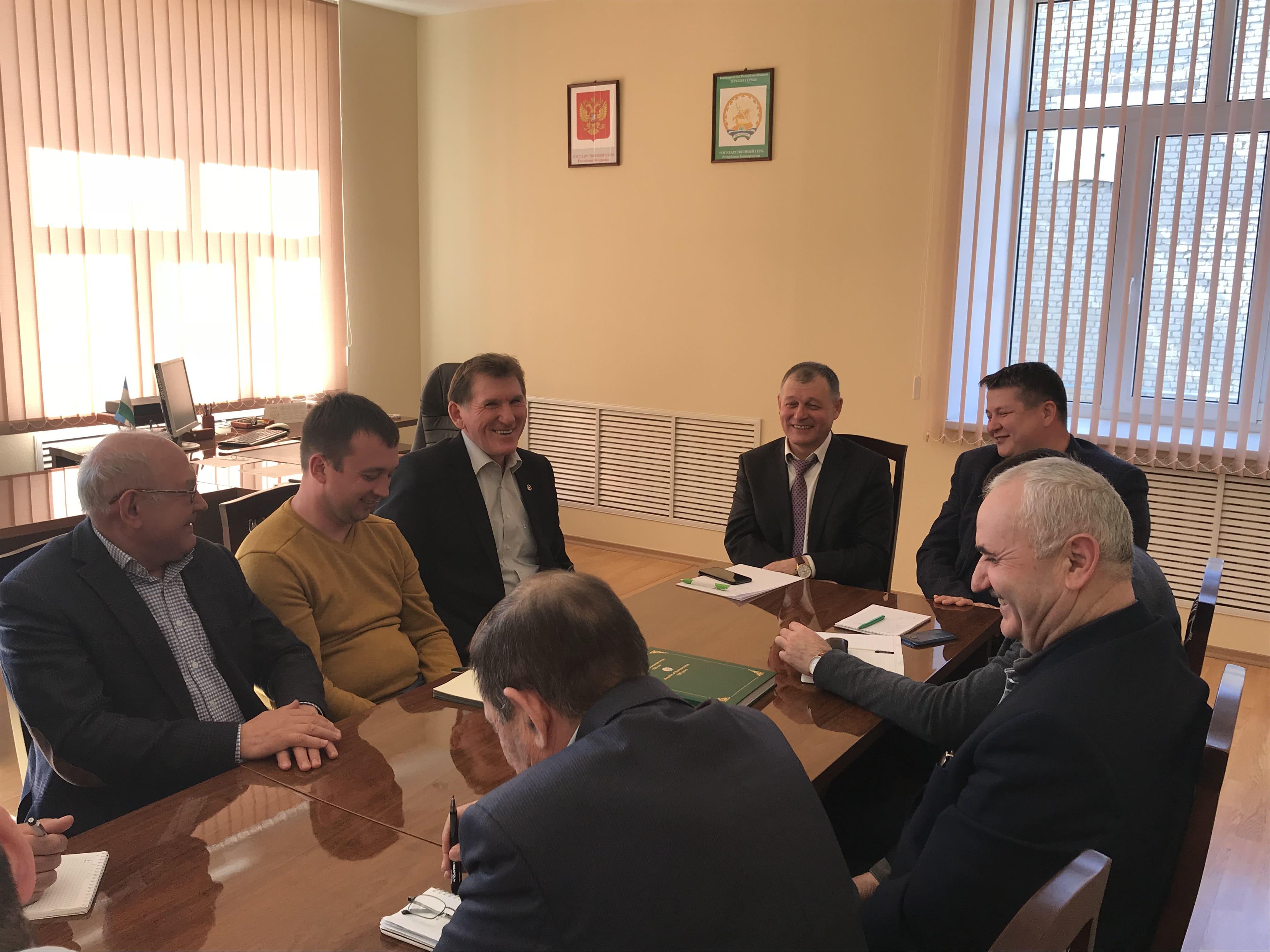 В Башкирском НИИСХ УФИЦ РАН состоялась встреча с коллегами из Татарстана
